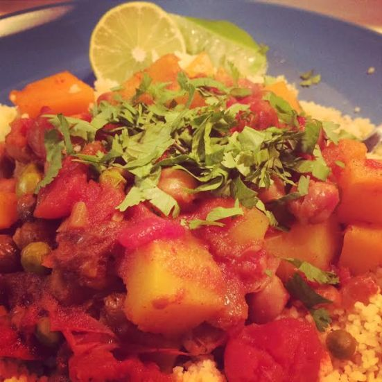 Chickpea & Squash Chili - plate 2!