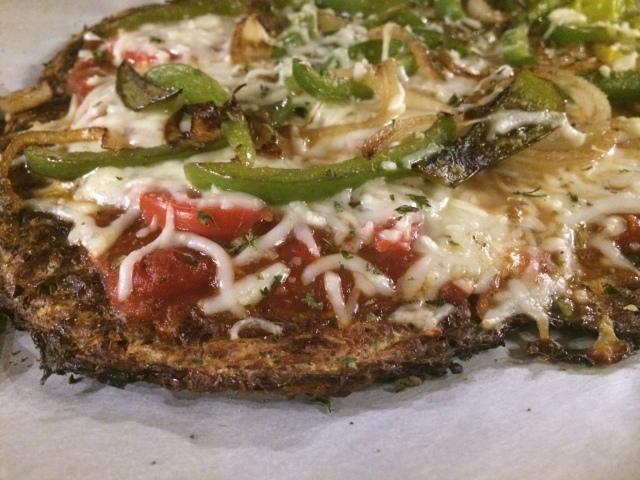 spaghetti squash pizza 2