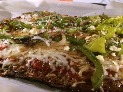 spaghetti squash pizza 3
