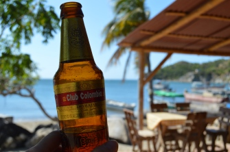 Club Colombia beer!