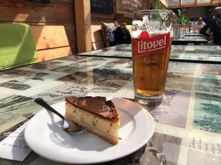 sernik and beer