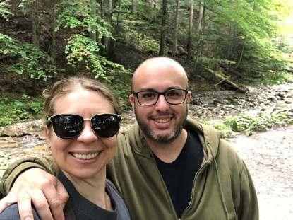 zakopane hike selfie